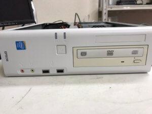 EpsonデスクトップPCのWindows7を10にアップグレード希望