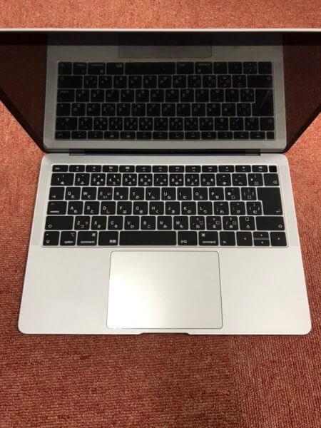 MacBook Air 2019年モデルの液晶パネル割れのデータ復旧(A1392)