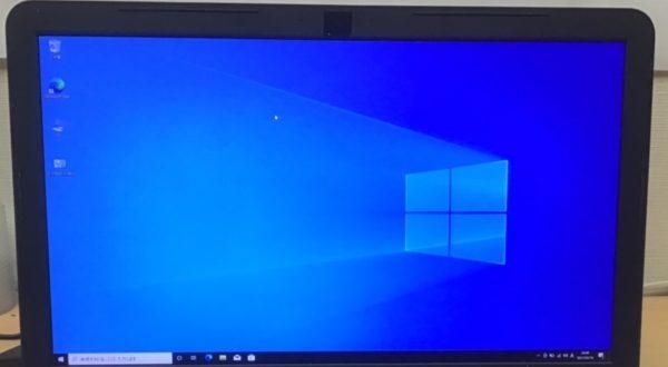 Windowsインストール後、最新のアップデートを入れて作業完了です