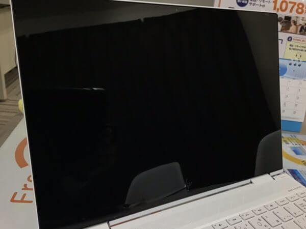 HPノートパソコン ENVY x360 コンバーチブルの液晶画面故障の修理