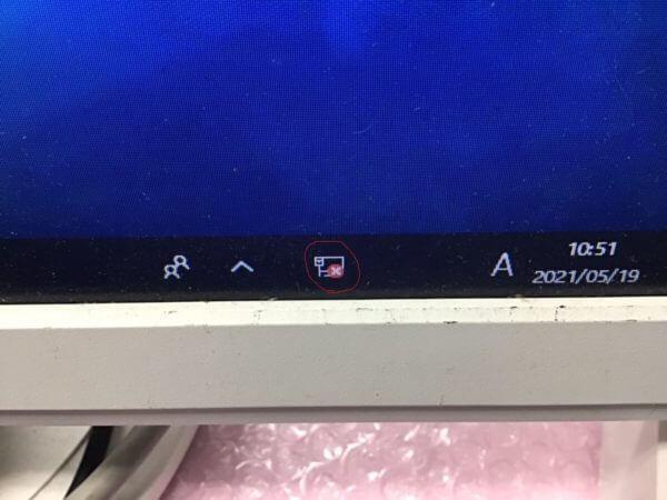 デスクトップ画面(無線機能無し)