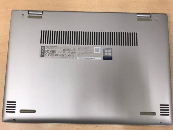 LenovoノートPC YOGA720のファン交換