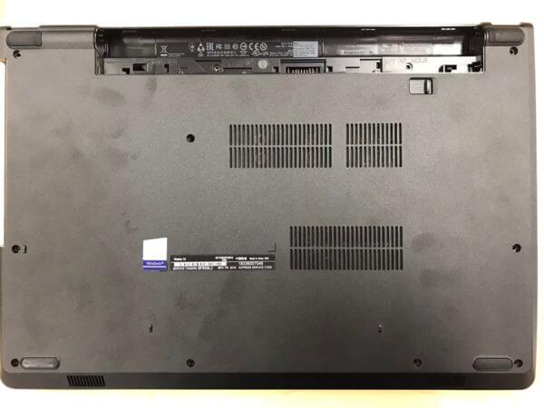 パソコンが遅い動作を改善するためのSSD換装事例