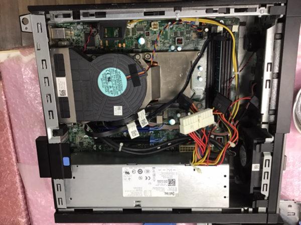 DELL製デスクトップパソコンで電源ランプが点灯のまま電源が入らないトラブル