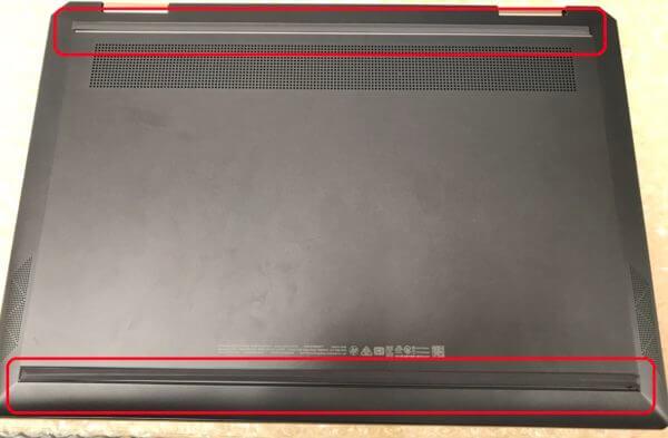 HPノートパソコン Spectre x360のキーボード交換