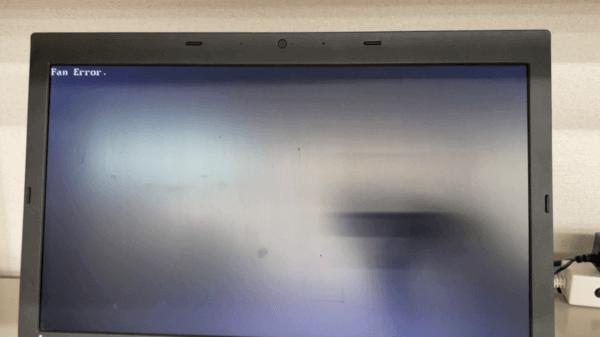 ThinkPad L540のCPUファンエラーの修理事例