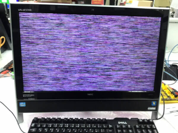 PC-VN770HS6W故障画面