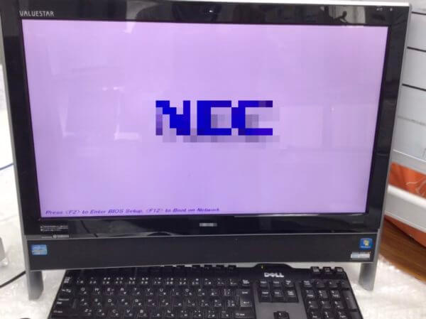 PC-VN770HS6W修理後