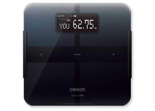 【レビュー】スマホで体重や体脂肪率を管理できる体重体組成計、オムロン HBF-253W  『カラダスキャン』