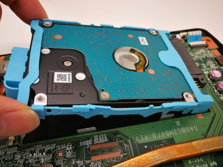 HDDの換装