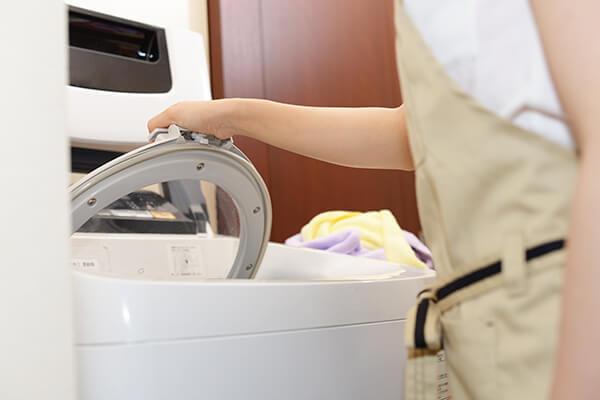 乾燥機のタイプを確認