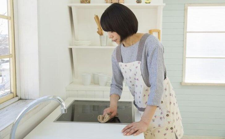 キレイに保とう♪IHコンロや卓上IHなど、IH調理器具の掃除方法