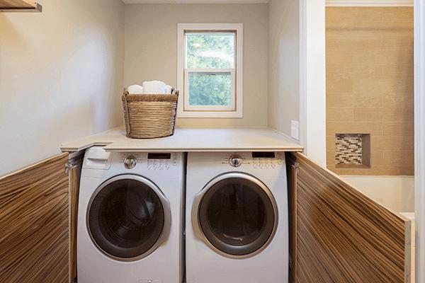 洗濯機の置き場所について