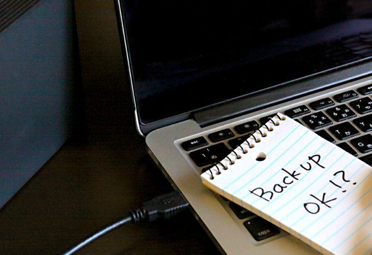 USBケーブルを使ったデータ移行方法