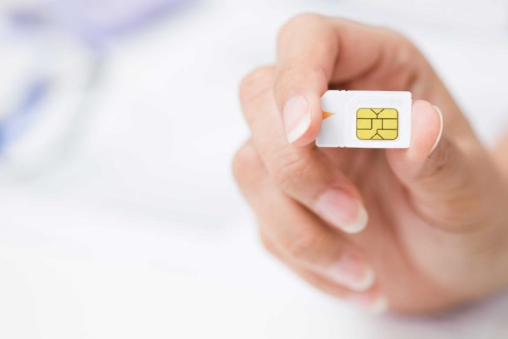 SIMカードのサイズは全部で3種類