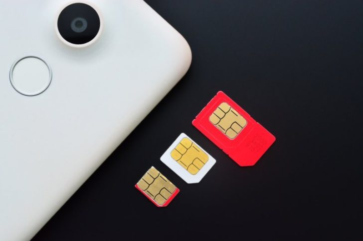 スマホによって異なるSIMカードのサイズ