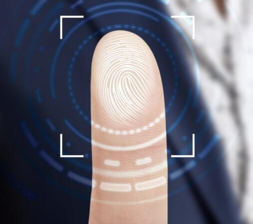 指紋を再登録する