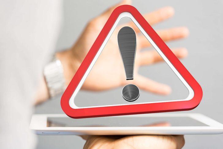 セキュリティ警告が表示された場合の対処方法