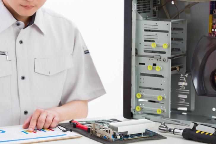 部品交換を伴うパソコン修理はプロにお任せ