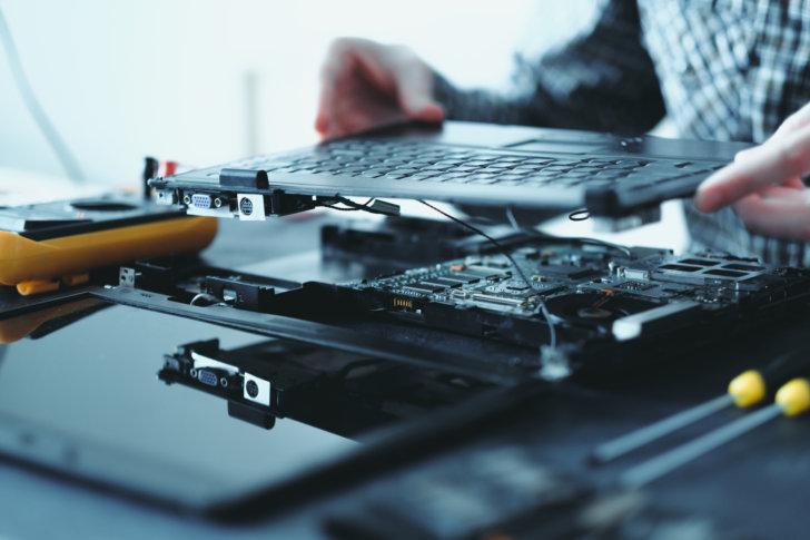 パソコン修理の経験が豊富なスタッフが揃っています