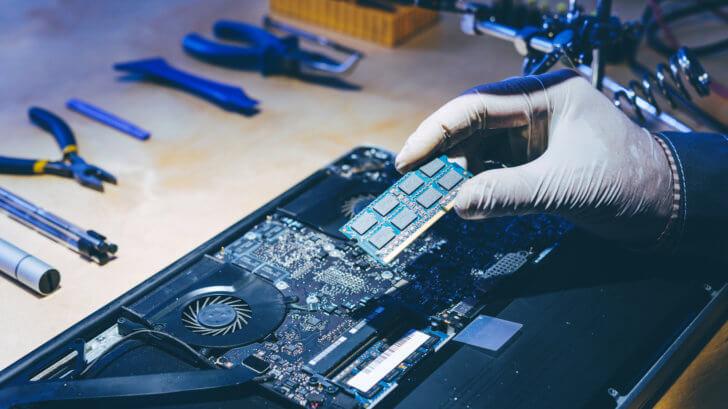 パソコン専門家による修理