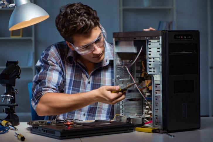 パソコンの不具合箇所を特定