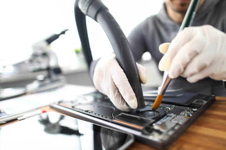 パソコン内部の掃除