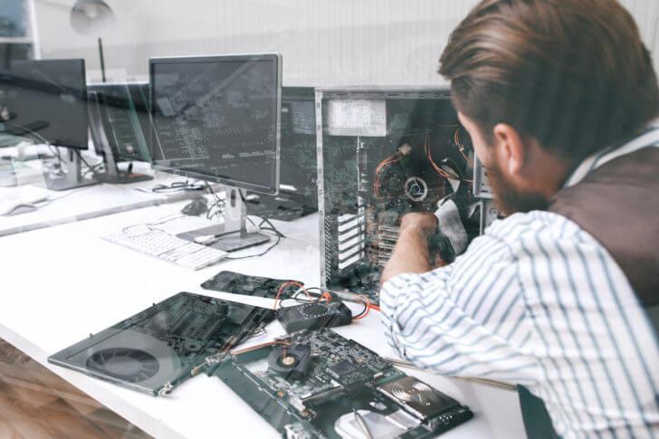 パソコンの部品ごとの寿命と症状