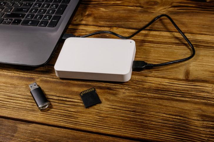 USBや外付けHDD・SSDを利用したデータ移行方法