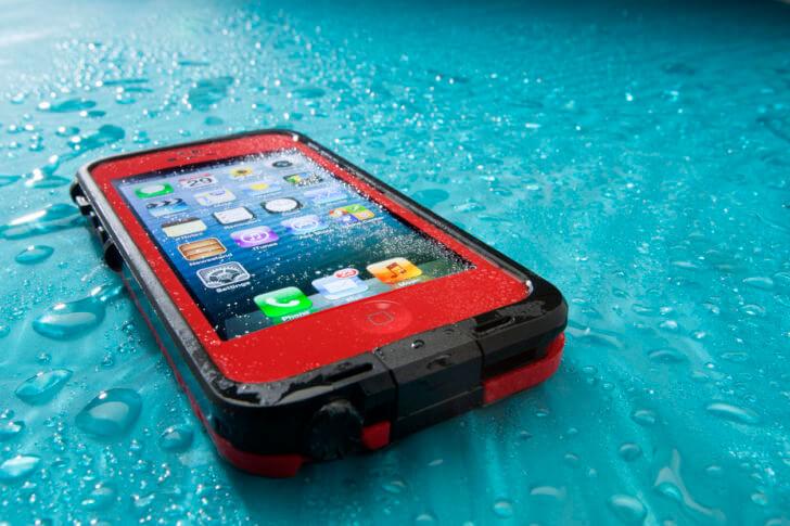 iPhoneと防水機能
